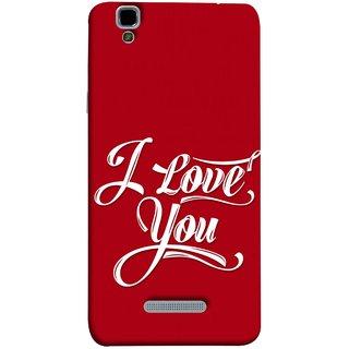 FUSON Designer Back Case Cover For YU Yureka Plus :: Yu Yureka Plus YU5510A (I Love You Always Lovers Valentine Hearts Kiss )
