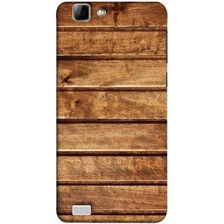 FUSON Designer Back Case Cover For Vivo X3S (Wood Furniture Table Door Solid Beautiful Art Wallpaper)
