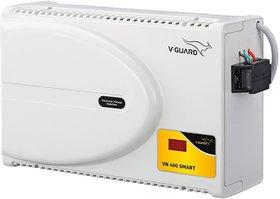 V-Guard VN 400 Smart Voltage Stabilizer  (White)