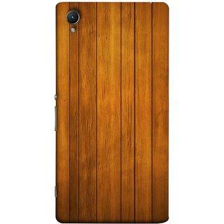 FUSON Designer Back Case Cover For Sony Xperia Z1 :: Sony Xperia Z1 L39h :: Sony Xperia Z1 C6902/L39h :: Sony Xperia Z1 C6903 :: Sony Xperia Z1 C6906 :: Sony Xperia Z1 C6943  (Unique Wooden Pine Background Vintage Table Tiles)