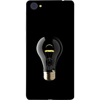 FUSON Designer Back Case Cover For Vivo X7 (Hanging Light Bulb In Dark Room Ceiling Darkness )