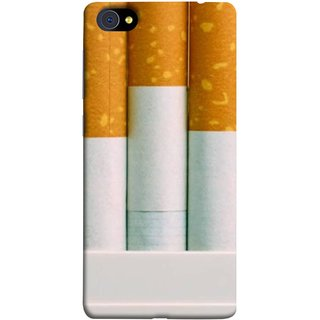 FUSON Designer Back Case Cover For Vivo X7 Plus (Pack Of Cigarettes With Cigarettes Sticking Out )