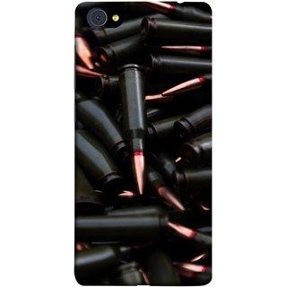 FUSON Designer Back Case Cover For Vivo X7 Plus (Rounds Ammunition Bullets Guns Aurora Murders)