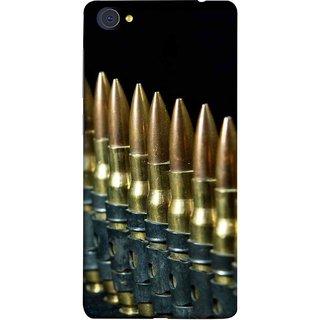 FUSON Designer Back Case Cover For Vivo X7 Plus (Gun Control Aurora Rounds Ammunition Bullets Guns Ammo)