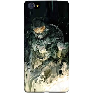 FUSON Designer Back Case Cover For Vivo X7 Plus (Army War Secret Missions Country Saver Fighter)
