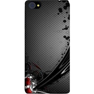 FUSON Designer Back Case Cover For Vivo X7 Plus (Red Bubbles Unique Whimsical Fantasy Fine Art Spots)