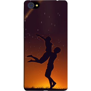 FUSON Designer Back Case Cover For Vivo X5Pro :: Vivo X5 Pro (Milky Way Stars Love Couples Lovers Family Love)