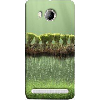 FUSON Designer Back Case Cover For Vivo Xshot :: Vivo X Shot (Sheaves Of Recently Harvested Rice Hanging To Dry)