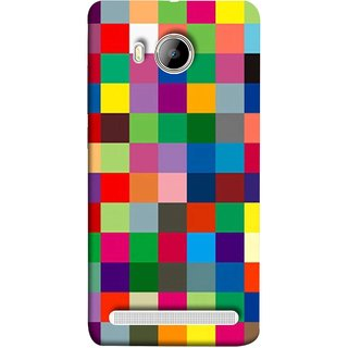 FUSON Designer Back Case Cover For Vivo Xshot :: Vivo X Shot (Triple Monitor Multi Multiple Screen Brique Cube)