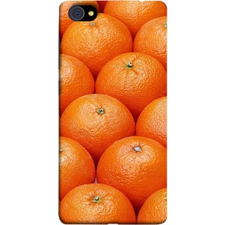 FUSON Designer Back Case Cover For Vivo X5Pro :: Vivo X5 Pro (Countryside Scent Of Orange Blossoms Citrun )