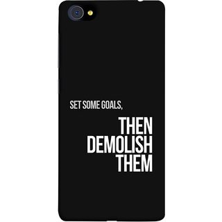 FUSON Designer Back Case Cover For Vivo X7 Plus (Motivational Inspirational Saying Quotes Words Big)
