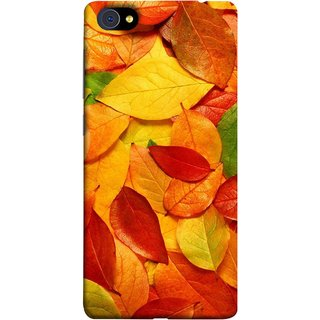 FUSON Designer Back Case Cover For Vivo X5Pro :: Vivo X5 Pro (Multicolour Dry Leaves Painting Bright Sunny Day )