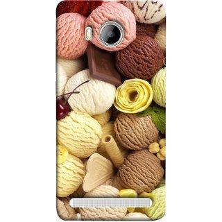 FUSON Designer Back Case Cover For Vivo Xshot :: Vivo X Shot (Cool Desserts Flavors Banana Chocolate Chips)