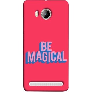 FUSON Designer Back Case Cover For Vivo Xshot :: Vivo X Shot (Wand Magically Make Differnece To Others Life )