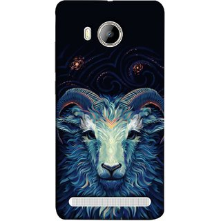 FUSON Designer Back Case Cover For Vivo Xshot :: Vivo X Shot (Bail Goat Horn Strong Bakara Style Design)