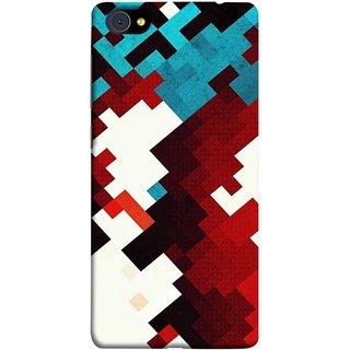 FUSON Designer Back Case Cover For Vivo X7 Plus (Beautiful Mobile Wallpaper Bright Design Red Blue )