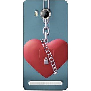 FUSON Designer Back Case Cover For Vivo Xshot :: Vivo X Shot (Padlock Hanging With Steel Chains Hurt Tight)