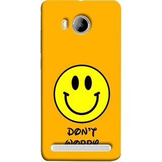 FUSON Designer Back Case Cover For Vivo Xshot :: Vivo X Shot (Big Smiling Baby Smiley Be Happy Never Worry)