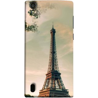 FUSON Designer Back Case Cover For Vivo Y15S :: Vivo Y15 ( Paris Sunrise France Tourist Place Hd Wallpaper)