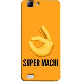 FUSON Designer Back Case Cover For Vivo Y27 :: Vivo Y27L (Super Machi Video Song Allu Arjun Samantha)