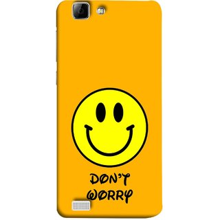 FUSON Designer Back Case Cover For Vivo Y27 :: Vivo Y27L (Big Smiling Baby Smiley Be Happy Never Worry)