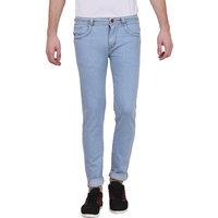 Denim Lycra Slim Fit Jeans For Mens