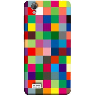 FUSON Designer Back Case Cover For Vivo Y31 :: Vivo Y31L (Triple Monitor Multi Multiple Screen Brique Cube)