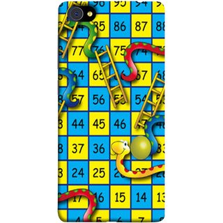 FUSON Designer Back Case Cover For Vivo X7 Plus (Dice Pair Nice Game India Blue Children Squares Girls )