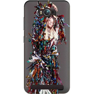 Snooky Printed Colorful Lady Mobile Back Cover of Asus Zenfone Max - Multicolour