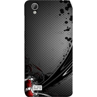 FUSON Designer Back Case Cover For Vivo Y31 :: Vivo Y31L (Red Bubbles Unique Whimsical Fantasy Fine Art Spots)