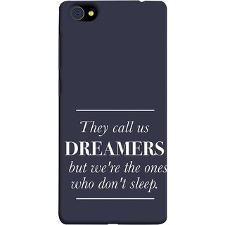 FUSON Designer Back Case Cover For Vivo X5Pro :: Vivo X5 Pro (But We Are The Ones Who Don'T Sleep Successful )