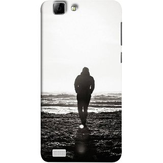FUSON Designer Back Case Cover For Vivo X3S (Alone Searching Love Broken Breakup Sunshine )
