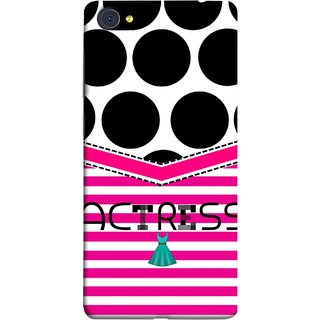 FUSON Designer Back Case Cover For Vivo X5Pro :: Vivo X5 Pro (Beautufil Actress Movies Bollywood Nice Pink Design Paper)