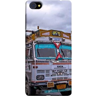 FUSON Designer Back Case Cover For Vivo X5Pro :: Vivo X5 Pro (Decorated Goods Carrier On Mountain Road In The Himalayas )