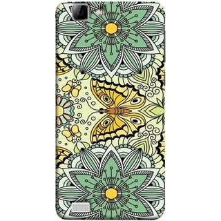 FUSON Designer Back Case Cover For Vivo X3S (Vintage Floral Seamless Pattern With Roses Leaves )