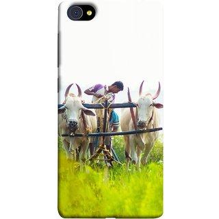 FUSON Designer Back Case Cover For Vivo X5Pro :: Vivo X5 Pro (Indian Farmers Crop Sowing Seeds Fresh Rice Plants )