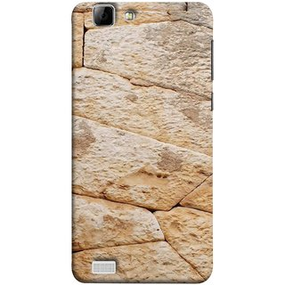 FUSON Designer Back Case Cover For Vivo X3S (Irregular Shapes Ancient Different Sizes Wallpaper)