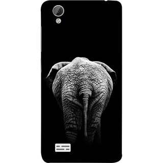 FUSON Designer Back Case Cover For Vivo Y31 :: Vivo Y31L (Side View Of Jungli Animal Forest Trees Leaves Branches)