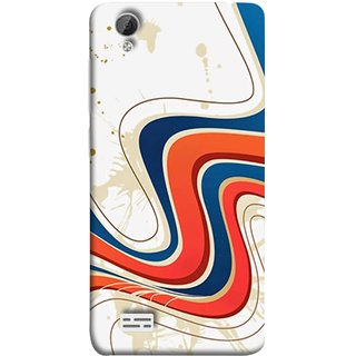 FUSON Designer Back Case Cover For Vivo Y31 :: Vivo Y31L (Vector Digital Illustration Best Wallapper Pattern)