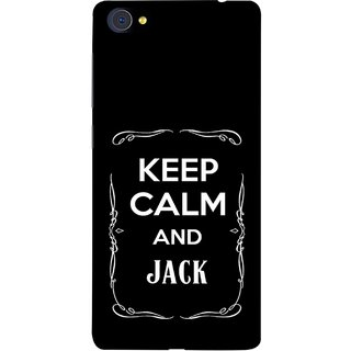 FUSON Designer Back Case Cover For Vivo X7 Plus (Friends Jack Jackdaniel Drinks Whiskey Jack Daniel Quotes)