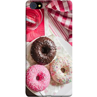 FUSON Designer Back Case Cover For Vivo X5Pro :: Vivo X5 Pro (Glazed Donuts Sweet Desserts Party Cold Soft Drink)