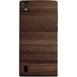 FUSON Designer Back Case Cover For Vivo Y15S :: Vivo Y15 (Strips Brown Gray
