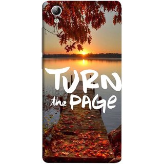 FUSON Designer Back Case Cover For Vivo Y51 :: Vivo Y51L (Nice Good Morning Sunshine Rise Lake Shore )