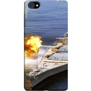 FUSON Designer Back Case Cover For Vivo X5Pro :: Vivo X5 Pro (Ocean Missile Destroyers Ins Delhi Modern Warships)