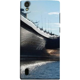 FUSON Designer Back Case Cover For Vivo Y15S :: Vivo Y15 (Indian Submarine Shoots Ship With Missile Training )