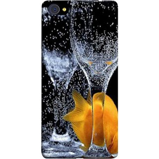 FUSON Designer Back Case Cover For Vivo X5Pro :: Vivo X5 Pro (3D Water Splash Illustration Fuzzy Bubbles Unique)