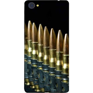 FUSON Designer Back Case Cover For Vivo X5Pro :: Vivo X5 Pro (Gun Control Aurora Rounds Ammunition Bullets Guns Ammo)