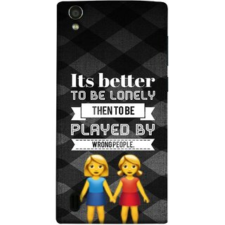FUSON Designer Back Case Cover For Vivo Y15S :: Vivo Y15 (By Wrong People Couple Friends Boy Girls Standing)