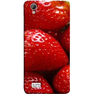FUSON Designer Back Case Cover For Vivo Y31 :: Vivo Y31L (Best Fresh Strawberry Ice Cream Homemade Recipes)