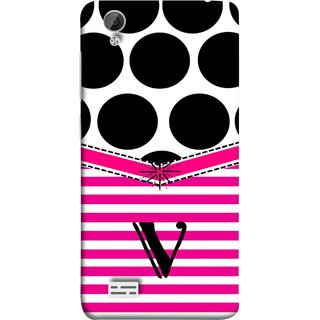 FUSON Designer Back Case Cover For Vivo Y31 :: Vivo Y31L (Beautiful Cute Nice Couples Pink Design Paper Girly V)